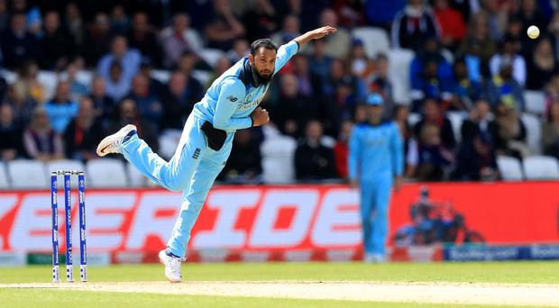 Adil Rashid needed two injections to get through the World Cup (Simon Cooper/PA)