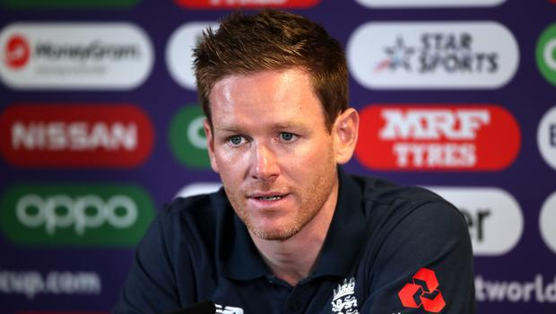 Eoin Morgan is preparing for a World Cup semi-final (Nick Potts/PA)
