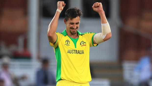 Mitchell Starc outwitted Morgan at Lord's (Mike Egerton/PA)