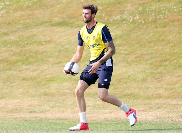 Reece Topley has taken to studying during cricket's lockdown (Simon Cooper/PA)