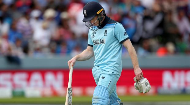 Eoin Morgan wants England to remain positive despite a poor display against New Zealand (Nick Potts/PA)