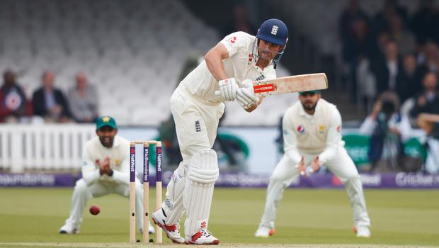 Alastair Cook lost two partners early on day one