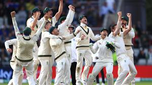 Australia retained the Ashes at Old Trafford (Mike Egerton/PA)