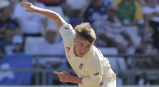 Sam Curran picked up two vital wickets for England (AP)