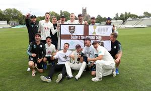 Surrey were crowned County Championship winners two seasons ago (David Davies/PA)