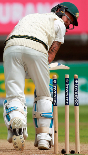 Don't look back in anger: Michael Clarke has had a tough time during the Ashes series