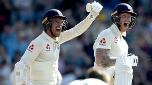 Jack Leach (left) does not want batting heroics to be his legacy (Tim Goode/PA)