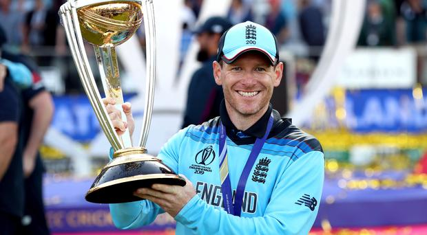 Eoin Morgan led England to their first ever 50-over global title earlier this year (Nick Potts/PA)