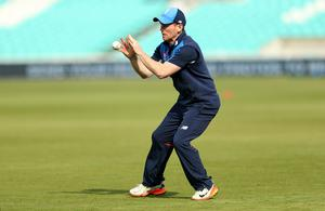 England captain Eoin Morgan is prepared to go easy on his players in training because of a busy schedule