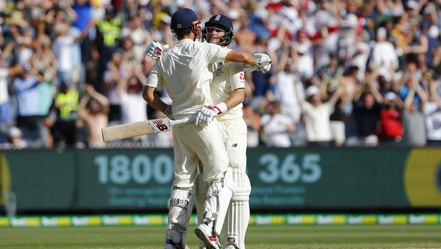 Anderson hopes the likes of Alastair Cook and Joe Root can inspire England with the bat (Jason O'Brien/PA)
