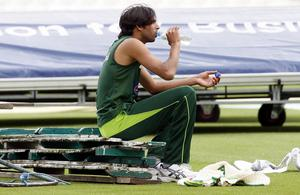 Mohammad Asif would later find himself embroiled in a spot-fixing scandal (Sean Dempsey/PA)