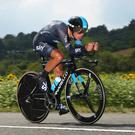 Sky's the limit: Richie Porte is on his way to Northern Ireland