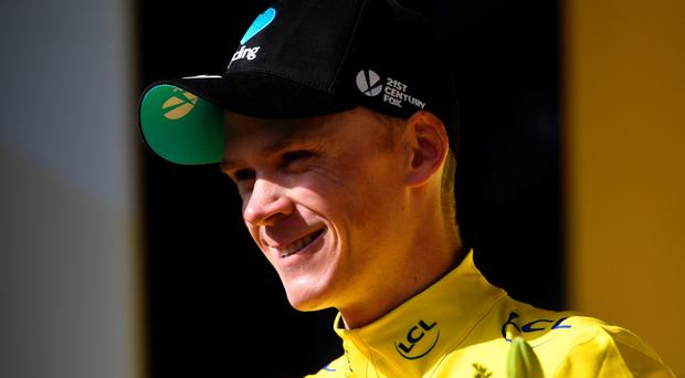 Froome beat Dutch time-trial specialist Tom Dumoulin by 21 seconds