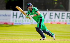 On it: Andrew Balbirnie is urging Ireland to get the competitive juices flowing ahead of the ODI battles against England