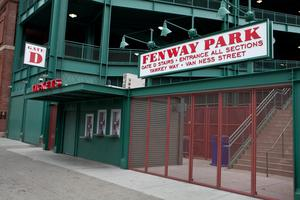 Ballpark figure: Boston's famed Fenway Park, home of the Red Sox, was built by Ulsterman Charles Logue