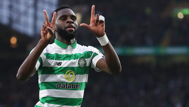 Bang on: Odsonne Edouard has netted two free-kicks in a week