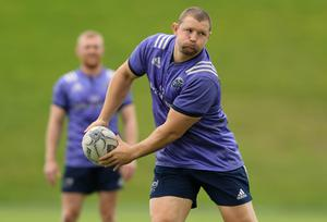 Training with Munster