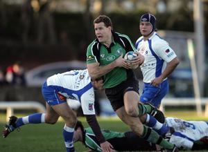 In action for Connacht in 2006