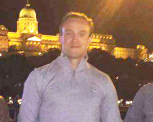 Working man: Fermanagh ace Che Cullen in Budapest