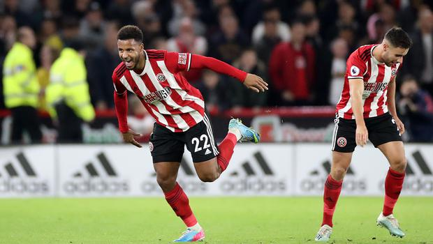 Lys Mousset's goal was enough for Sheffield United to seal a memorable victory over Arsenal on their return to the Premier League. (Danny Lawson/PA)