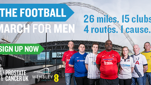 Hurst is supporting Prostate Cancer UK's Football March for Men which takes place on Sunday July 22. (Prostate Cancer UK Handout)