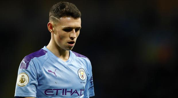 Phil Foden is set for a rare start (Martin Rickett/PA)