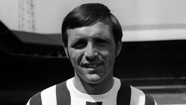 """Jeff Astle died in 2002 aged 59, from chronic traumatic encephalopathy (CTE). The coroner ruled that his death had been caused by the repeated trauma of heading the ball, describing it as an """"industrial disease"""" (PA)"""