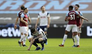 Tottenham's defeat at West Ham was their fifth in six Premier League games (Kirsty Wigglesworth/PA)