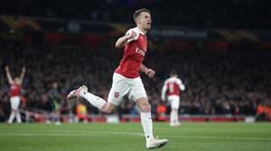 Aaron Ramsey put Arsenal ahead after 14 minutes (Adam Davy/PA)