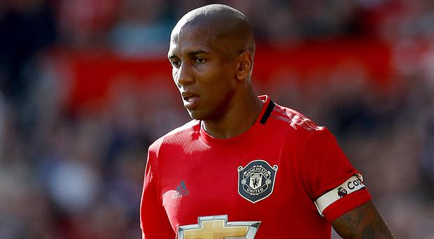Ashley Young believes Manchester United are close to finding good form as a team (Martin Rickett/PA)