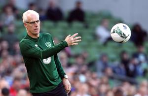 Former Republic of Ireland captain and manager Mick McCarthy will wear the green jersey again to honour Jack Charlton (Niall Carson/PA)