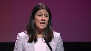 MP Lisa Nandy says there must be a full investigation into the circumstances surrounding Wigan being placed in administration (Jane Barlow/PA)