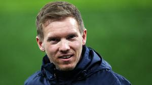 RB Leipzig manager Julian Nagelsmann wants his side to finish the job against Tottenham (Steven Paston/PA).