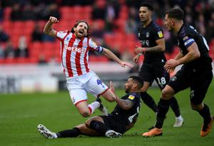 Major blow: Stoke ace Joe Allen has been ruled out of action with a long-term injury