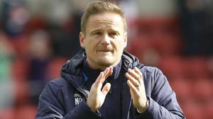 Notts County manager Neal Ardley has suggested a play-off resolution for promotion and relegation. (Julian Herbert/PA)