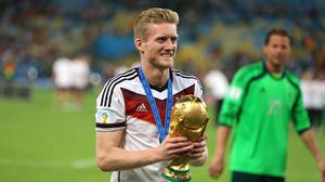 World Cup winner Andre Schurrle has retired at the age of 29 (Mike Egerton/PA)