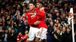 Marcus Rashford and Mason Greenwood have come through the academy into the first team (Martin Rickett/PA)