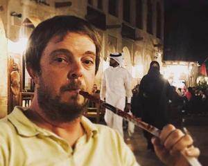 A shisha pipe provides the perfect post-match treat in D Doha (Mark Staniforth)
