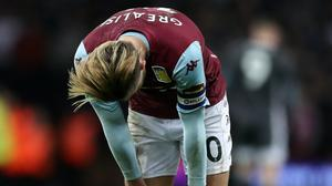 Aston Villa's Jack Grealish made a wrong decision and apologised (Nick Potts/PA)