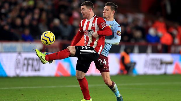 Sheffield United and Aston Villa are set to go head to head on June 17 as the Premier League restarts (Mike Egerton/PA)