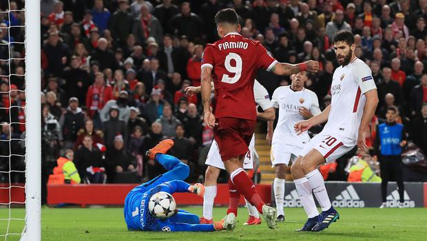 Liverpool are on the brink of a Champions League final
