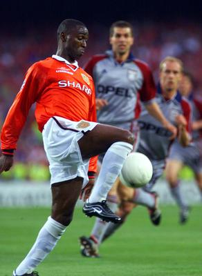 Andy Cole was part of Manchester United's treble-winning side in 1999 (Owen Humphreys/PA)