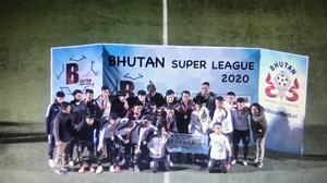 Fans flocked to watch a feed of the Bhutan Super League final on Saturday (Danny Tolhurst)