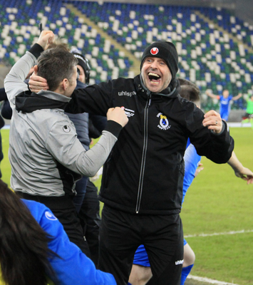 McAree went on to manage Dungannon Swifts to their first ever League Cup crown in 2018.