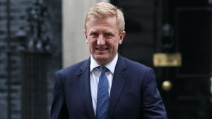 Culture Secretary Oliver Dowden is in talks to help the Premier League resume (Stefan Rousseau/PA)