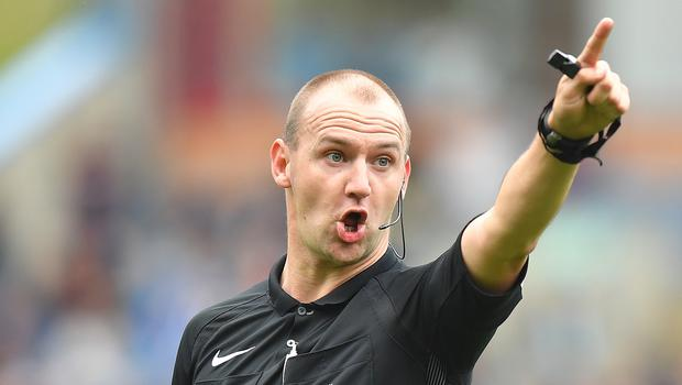 Bobby Madley has not refereed in England since the 2017-18 season (Dave Howarth/PA)