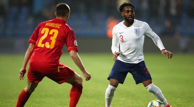 England's Danny Rose was subjected to racist abuse by some of the home supporters in Podgorica (Nick Potts/PA)