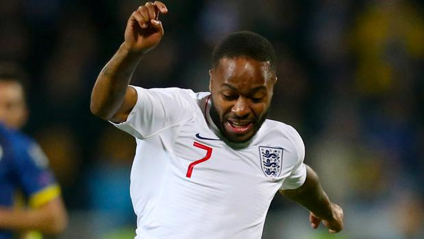 Raheem Sterling had a quiet night as he returned for England in Kosovo (Steven Paston/PA)
