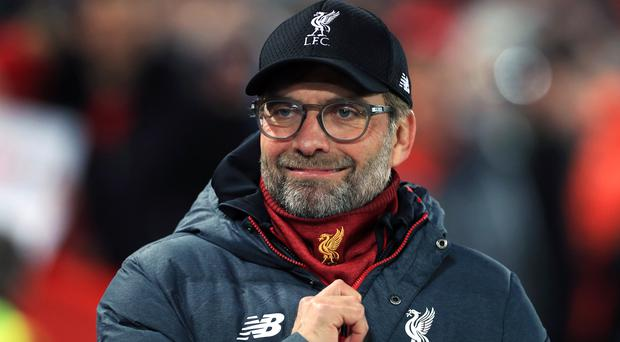 Jurgen Klopp wants success at home and in Europe (Mike Egerton/PA)