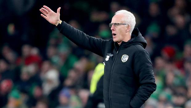With four Euro 2020 games due to be staged in Dublin, Mick McCarthy is determined to qualify with the Republic (Niall Carson/PA)